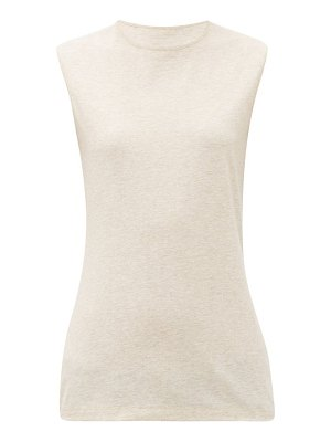 RAEY recycled-yarn cotton-blend tank top