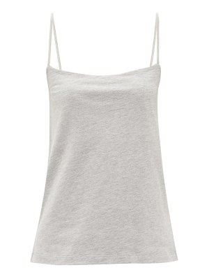 RAEY square-neck cotton-blend jersey vest