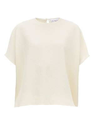 RAEY square wool-crepe top