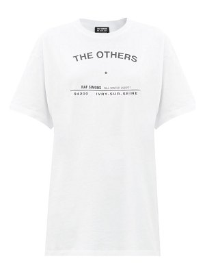 Raf Simons the others-print cotton-jersey t-shirt
