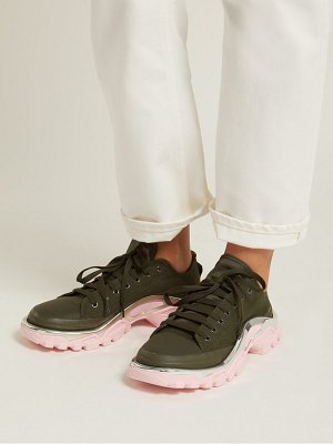 RAF SIMONS X ADIDAS detroit runner low top trainers