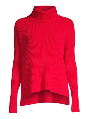 Raffi rib-knit cashmere turtleneck sweater