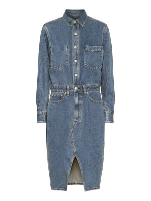 Rag & Bone all in one denim shirt dress