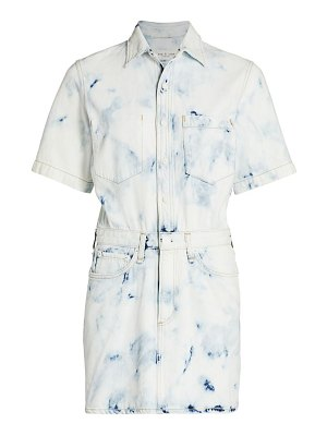 Rag & Bone all-in-one denim shirtdress