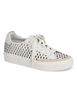 Rag & Bone army perforated low top sneaker