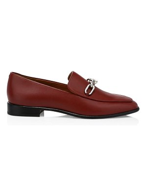 Rag & Bone aslen square-toe leather loafers