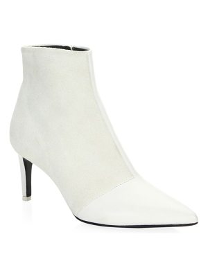 Rag & Bone beha cap-toe leather ankle boots