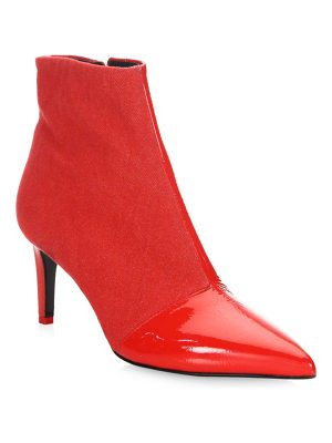 Rag & Bone beha point-toe leather ankle boots
