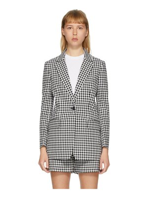 Rag & Bone black and white ames blazer