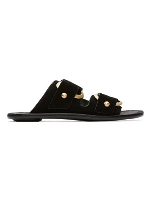 Rag & Bone black avost slip-on sandals