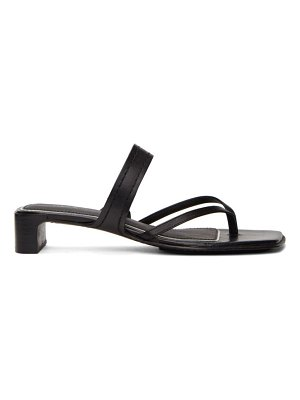 Rag & Bone black colt heeled sandals