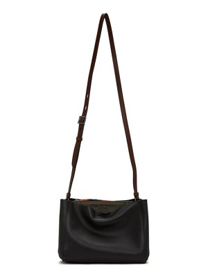 Rag & Bone black passenger shoulder bag