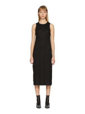 Rag & Bone black the knit rib zip dress