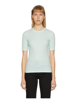 Rag & Bone blue the rib slim t-shirt