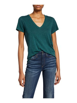 Rag & Bone Cotton V-Neck Tee