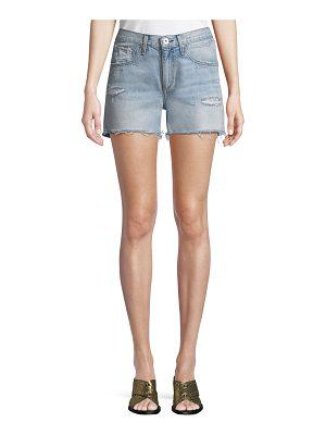 Rag & Bone Cutoff Distressed Denim Shorts