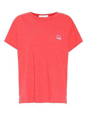 Rag & Bone embroidered cotton t-shirt