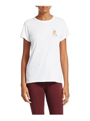 Rag & Bone embroidered tiger cotton tee