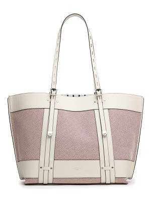 Rag & Bone field leather & cotton tote