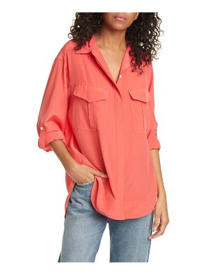 Rag & Bone florian silk shirt