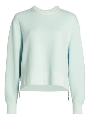Rag & Bone frankie side zipper sweatshirt