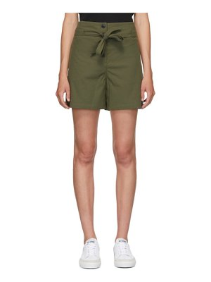 Rag & Bone green camille shorts