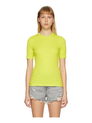 Rag & Bone green the rib slim t-shirt