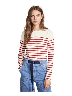 Rag & Bone halsey striped ls tee