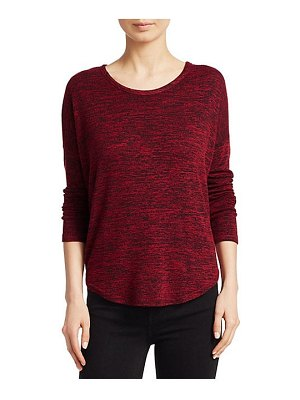 Rag & Bone hudson cotton jersey long sleeve top