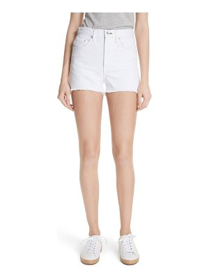 Rag & Bone justine high waist cutoff denim shorts