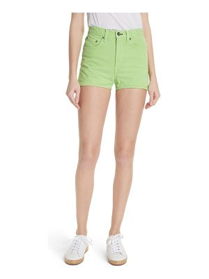 Rag & Bone justine high waist denim shorts