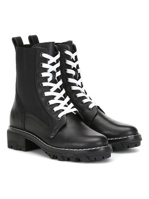 Rag & Bone lace-up leather ankle boots
