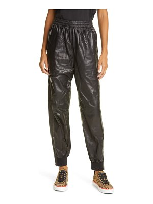 Rag & Bone leather joggers