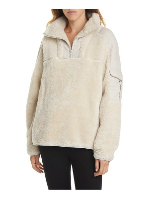 Rag & Bone logan recycled polyester fleece pullover