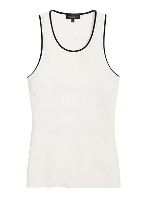 Rag & Bone nora piped tank top