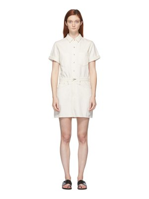 Rag & Bone off-white all in one dress