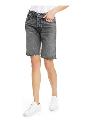 Rag & Bone rosa cutoff denim bermuda shorts