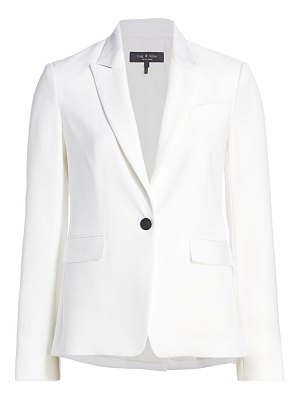 Rag & Bone rylie button-front blazer