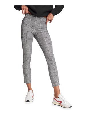 Rag & Bone Simone Check Fitted Ankle Pants