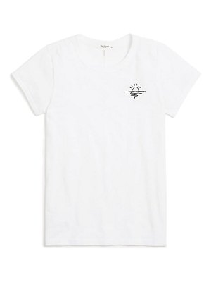 Rag & Bone sunset embroidered  t-shirt