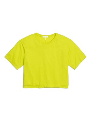Rag & Bone the jersey crop t-shirt