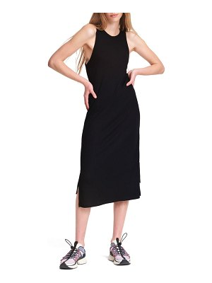 Rag & Bone the knit rib zip sleeveless midi dress
