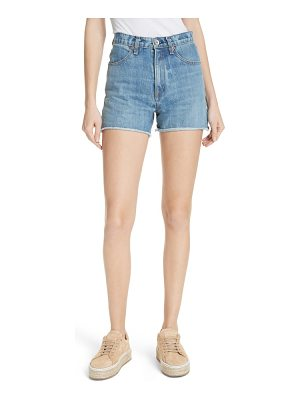 Rag & Bone torti high waist denim shorts