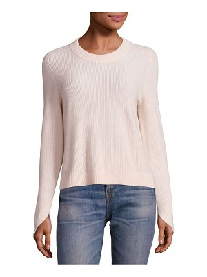 Rag & Bone Valentina Cashmere Cropped Top