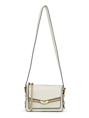 Rag & Bone white small field messenger bag