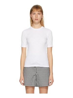Rag & Bone white the rib slim t-shirt
