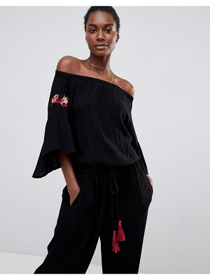 Raga Avalon Off Shoulder Jumpsuit