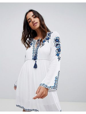 Raga mediterranean embroidered tunic dress