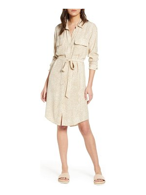 Rails alix long sleeve shirtdress