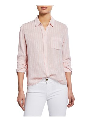 Rails Charli Striped Button-Front Shirt